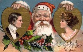 hol002159 - Christmas Santa Claus Postcard Postcards