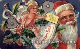 hol002160 - Christmas Santa Claus Postcard Postcards