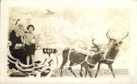 hol002167 - Christmas Santa Claus Postcard Postcards