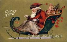 hol002170 - Christmas Santa Claus Postcard Postcards