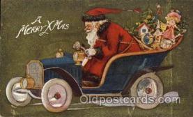 hol002172 - Christmas Santa Claus Postcard Postcards
