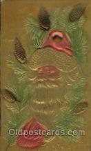 hol002188 - Christmas Santa Claus Postcard Postcards