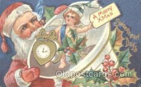 hol002204 - Santa Claus Postcard Postcards