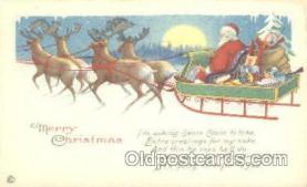 hol002205 - Santa Claus Postcard Postcards