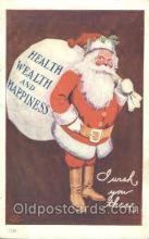 hol002209 - Santa Claus Postcard Postcards