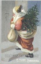 hol002214 - Santa Claus Postcard Postcards