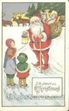 hol002217 - Santa Claus Postcard Postcards