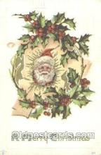 hol002218 - Santa Claus Postcard Postcards