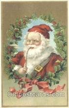 hol002222 - Santa Claus Postcard Postcards