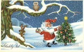 hol002234 - Christmas, Santa Claus Postcard Postcards