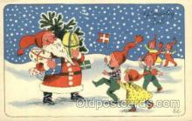 hol002235 - Christmas, Santa Claus Postcard Postcards