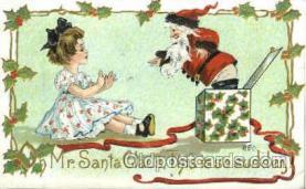 hol002238 - Artist HB Griggs, Christmas, Santa Claus Postcard Postcards