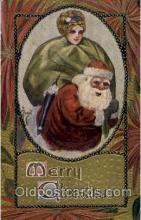hol002248 - Christmas, Santa Claus Postcard Postcards