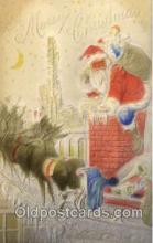 hol002250 - Christmas, Santa Claus Postcard Postcards