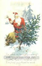 hol002253 - Santa Claus, Christmas, Postcard Postcards