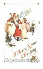 hol002277 - Santa Claus, Christmas, Postcard Postcards