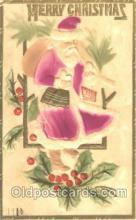 hol002281 - Santa Claus, Christmas, Postcard Postcards