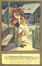 hol002287 - Santa Claus, Christmas, Postcard Postcards