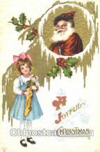 hol002295 - Santa Claus, Christmas, Postcard Postcards