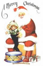hol002307 - Santa Claus, Christmas, Postcard Postcards
