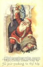 hol002309 - Santa Claus, Christmas, Postcard Postcards