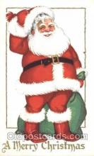 hol002322 - Santa Claus Christmas Postcard Postcards