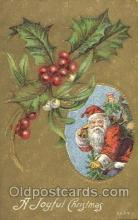hol002324 - Santa Claus Christmas Postcard Postcards