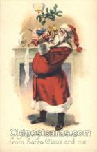 hol002336 - Santa Claus Christmas Postcard Postcards
