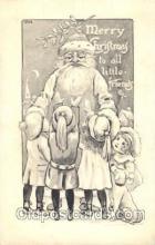 hol002338 - Santa Claus Christmas Postcard Postcards