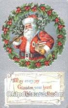 hol002339 - Santa Claus Christmas Postcard Postcards