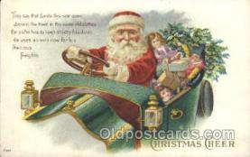 hol002343 - Santa Claus Christmas Postcard Postcards