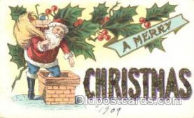 hol002350 - Santa Claus Christmas Postcard Postcards