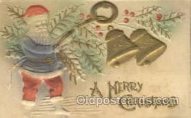 hol002353 - Santa Claus Christmas Postcard Postcards