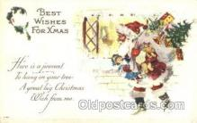 hol002367 - Santa Claus Christmas Postcard Postcards