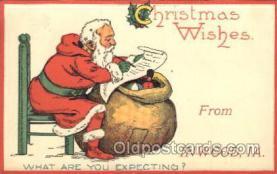 hol002377 - Inwood Iowa, USASanta Claus Christmas Postcard Postcards