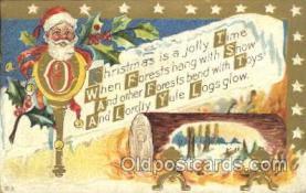 hol002379 - Santa Claus Christmas Postcard Postcards