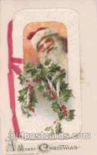 hol002506 - Christmas, Santa Claus Winch Folder Postcard Postcards