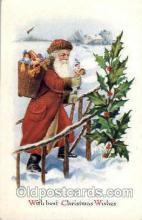 hol002512 - Santa Claus Christmas Postcard Postcards