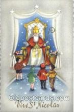 hol002525 - Santa Claus Christmas Postcard Postcards