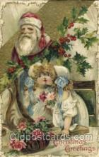 hol002527 - Santa Claus Christmas Postcard Postcards
