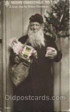 hol002531 - Santa Claus Christmas Postcard Postcards