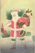 hol002532 - Santa Claus Christmas Postcard Postcards