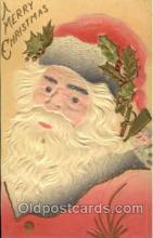 hol002535 - Santa Claus Christmas Postcard Postcards