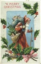 hol002536 - Santa Claus Christmas Postcard Postcards