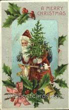 hol002537 - Santa Claus Christmas Postcard Postcards