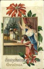 hol002539 - Santa Claus Christmas Postcard Postcards