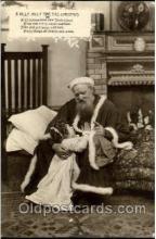 hol002540 - Santa Claus Christmas Postcard Postcards