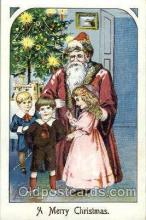 hol002546 - Santa Claus Christmas Postcard Postcards