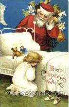 hol002547 - Santa Claus Christmas Postcard Postcards