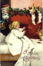 hol002548 - Santa Claus Christmas Postcard Postcards